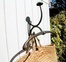 clothes valet wall mounted coat hook hanger for hallway or bedroom storage