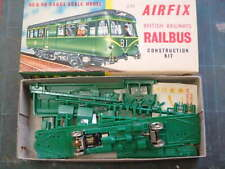 Airfix Railcar kit in original box with built Branchlines chassis + interior kit