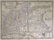 1624 ORTELIUS Historic map Northern ITALY - Italia - Milano - Brescia - Antique