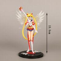 Anime Sailor Moon Usagi Tsukino Action Figure Toy Model 16CM Collection No Box