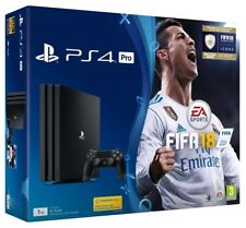 Sony PlayStation 4 Pro 1tb Console FIFA 18 Ps4 Official UK
