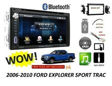 2006-2010 Ford Explorer Sport Trac Bluetooth touchscreen DVD CD USB CAR STEREO