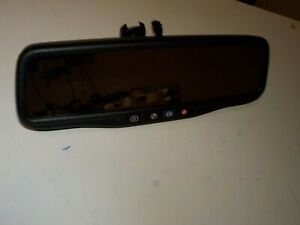 09 10 11 12-14 CHEVROLET BUICK Rear View Mirror Auto Dim Backup Camera E11026137