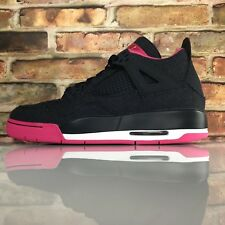 Nike Air Jordan 4 Retro Levis Denim Size 8 BG GS Dark Obsidian Pink Women 10