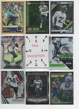 Seattle Seahawks ** SERIAL #'d Rookies Autos Jerseys ** ALL CARDS ARE GOOD CARDS