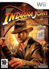 Indiana Jones and the Staff Of Kings Game Wii Nintendo Wii PAL Brand New