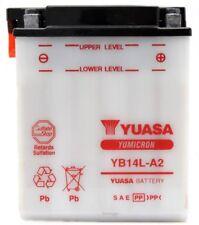 BATTERIA YUASA YB14L-A2 12 V 14 AH PIAGGIO X9 EVOLUTION 500 2003 2004 2005 2006