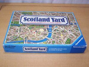 Vtg Scotland Yard Ravensburger 1983 Board Game Complete