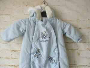 GIRLS/CHILDS HOODED SKI SUIT TO FIT UP TO 12 MONTHS / 7304