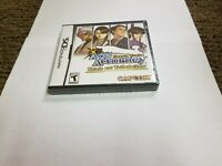 Phoenix Wright: Ace Attorney Trials and Tribulations (Nintendo DS, 2007) new