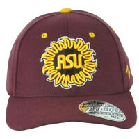 NCAA Zephyr Arizona State Sun Devils ASU Child Kids Strech Burgundy Hat Cap