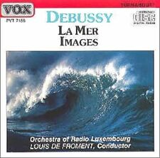 Debussy: Images, La Mer / Froment, Luxembourg Radio (CD, Jan-1987, Vox)