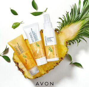 31,96€/100ml  AVON  Footworks Pineapple and Tea Tree im Set