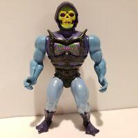 Original 1980's MOTU He-Man Masters of the Universe BATTLE ARMOR SKELETOR - NICE