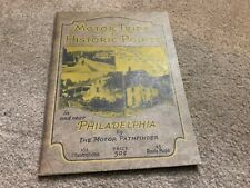 1926 antique Souvenir View Book - PHILADELPHIA - MOTOR TRIPS