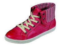 Dockers Stiefel Schnürschuhe Damenschuhe 220227 Gr.36-42 rot Neu11