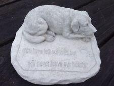 Stone Dog Statue Memorial