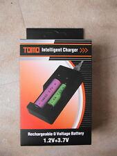 Tomo V6 Chargeur 26650 18650 18350 14500 Imr Li-Ion AA/AAA USB/Secteur NEUF