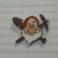 REAL* WDW 2014 Disney World GRUMPY Snow White The Seven Dwarfs Hidden Mickey Pin