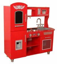 Kiddi Style Retro Chefs XLarge Childrens Kids Pretend Play Toy Wooden Kitchen