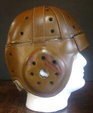KILLER Antique Late 1920's Wilson KNUTE ROCKNE Leather Vintage Football Helmet