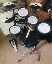 More details for roland electronic drum kit.