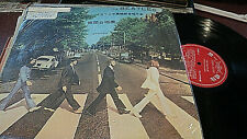 BEATLES ABBEY ROAD LP TAIWAN IMPORT FIRST RECORDS FL1777 COVERTITLE SAYS 1970