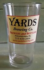 YARDS Brewing Co. - BEER GLASS - 1 Pint / CLASSIC POUNDER - Philadelphia PA