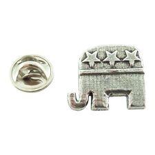 Republican Elephant ~ Mini-Pin ~ CWG-A1030MP ~ Pewter