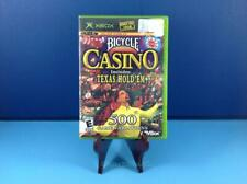 Bicycle Casino Complete Tested Xbox Original 500 Game Variations!