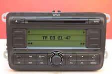 SKODA FABIA ROOMSTER DANCE MP3 CD RADIO PLAYER CAR STEREO CODE WARRANTY