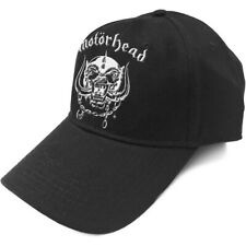Official Licensed Merch BASEBALL CAP Hat w/ High-embossed Logo MOTORHEAD Warpig