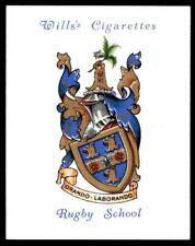 Wills Arms of Public Schools 1st Series 1933 (EX) Rugby School No. 25
