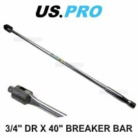 "US PRO Tools 3/4"" dr Power Breaker Knuckle Bar 40"" 4161"
