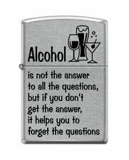 BRIQUET ZIPPO ESSENCE NEUF - ALCOOL - Original , Tempete , Collection , ALCOHOL
