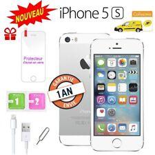 Neuf Apple iPhone 5s 16go 16GB unlocked DÉBLOQUÉ Téléphones Mobile - Argent FR