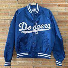 RARE Vintage Chalk Line Los Angeles Dodgers Satin Baseball Jacket L Large MINT!