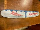 Vintage Rare American Junior Silver Firebaby U-Control Model Airplane Wing