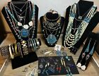 Vintage Jewelry Lot Southwestern Native American 925 Sterling Mexico 2+ Lbs
