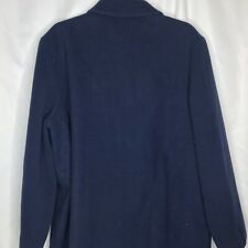 Pendleton Womens Jacket Coat 100% Virgin Wool Pockets Size Medium Blue #71