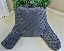 Malouf Z Lounge Bed Rest Pillow Back Rest with Arms - Shredded Foam Interior NEW