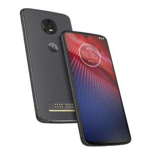 Motorola Moto Z4 XT19804 128GB GSM Unlocked Verizon Smartphone Flash Gray