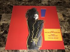 Janet Jackson Rare Control German Import Vinyl Lp Record Free Shipping Pop Rock