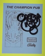 1998 Bally / Midway The Champion Pub pinball rubber ring kit
