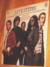 VINYL LP Live Stiffs - Elvis Costello , Nick Lowe , Ian Dury ++ UK pressing