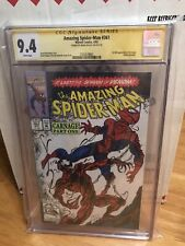 Cgc Signature Series Amazing Spider-man #361  4/92 Signed By Mark Bagley