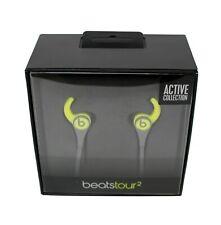 Beats Tour 2 con Cable In-Ear Headphone, activo Colección-SHOCK AMARILLO NUEVO al por menor