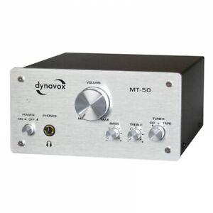 Dynavox Stereo-Miniverstärker MT-50 Silver 2x 50 Watt (206034)
