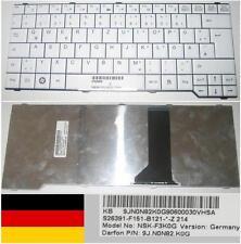 Clavier Qwertz Allemand FUJITSU M7400 Pro V2000 NSK-F3K0G 9J.N0N82.K0 Blanc
