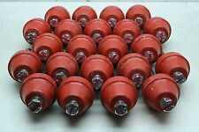 "22 Glastic 1872-2C Standoff Busbar Insulators 1/2""-13 Threads 4500V 3"" High"
